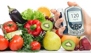 diabetes fruits vegetables